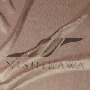生地 ドレス、ストール、スカート、ダンス衣装 楊柳シフォンジョーゼット 色番号21 ブラウンベージュ|nishikawa-tex1211