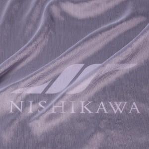 生地 ドレス、ストール、スカート、ダンス衣装 楊柳シフォンジョーゼット 色番号37 ペールバイオレット|nishikawa-tex1211
