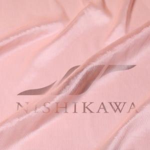 生地 ドレス、ストール、スカート、ダンス衣装 楊柳シフォンジョーゼット 色番号38 ライトサーモン|nishikawa-tex1211
