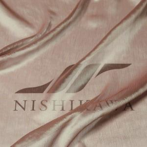 生地 ドレス、ストール、スカート、ダンス衣装 楊柳シフォンジョーゼット 色番号4 パープルベージュ|nishikawa-tex1211