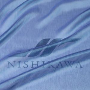 生地 ドレス、ストール、スカート、ダンス衣装 楊柳シフォンジョーゼット 色番号5 ブライトブルー|nishikawa-tex1211