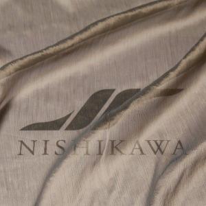 生地 ドレス、ストール、スカート、ダンス衣装 楊柳シフォンジョーゼット 色番号9 グリーンベージュ|nishikawa-tex1211