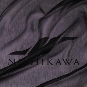 生地 ドレス、ストール、スカート、ダンス衣装 楊柳シフォンジョーゼット 色番号FBK ブラック|nishikawa-tex1211