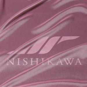 生地 スカート、ダンス衣装 広幅素材 シャンブレー楊柳シフォンジョーゼット 色番号2 グレイッシュピンク|nishikawa-tex1211