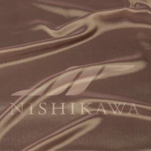 生地 スカート、ダンス衣装 広幅素材 シャンブレー楊柳シフォンジョーゼット 色番号23 パープルベージュ|nishikawa-tex1211