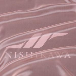 生地 スカート、ダンス衣装 広幅素材 シャンブレー楊柳シフォンジョーゼット 色番号8 ライトピンクベージュ|nishikawa-tex1211