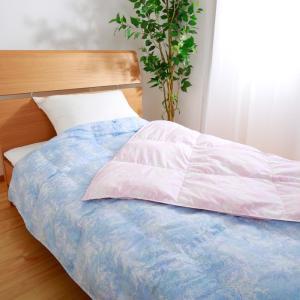 昭和西川 直営 スヤラボ ウォッシャブル羽毛肌掛けふとん/フルーメン (シングルロング)150 x 210cm 送料無料 西川 公式|nishikawastore|02