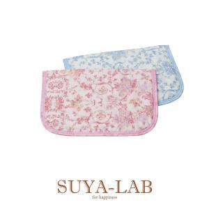 肌に触れる部分は、サラッと優しい二重ガーゼで、中綿は二重構造です。 吸水性のある綿を上に、速乾性・弾...