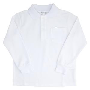 小学生制服 鹿の子 長袖ポロシャツ【返品・交換不可商品】|nishiki