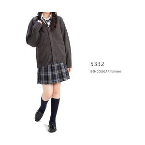 【P会員8%OFF】ベンクーガー スクールスカート (アクアライン チェック・5332)|nishiki