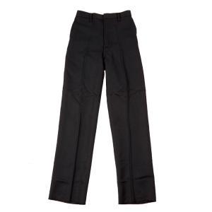 【P会員8%OFF】学生服 ズボン 小学生制服 長ズボン A体 (黒)|nishiki