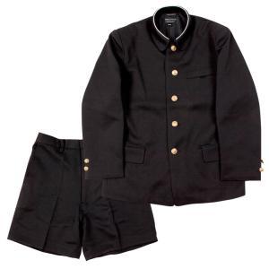 小学生制服 折襟学生服 上下セット A体 (黒)