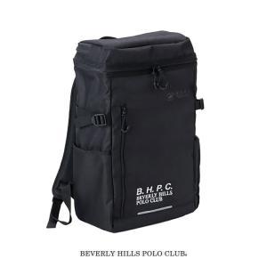 BEVERLY HILLS POLO CLUB 30L 男子 スクエアーバッグ リュック スクールバ...