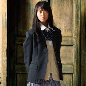 制服 ブレザー ビーステラ スクール レギュラーシルエット ウール50%ポリエステル50%(チャコールグレー)|nishiki
