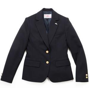 制服 ブレザー ビーステラ スクール タイトシルエット ウール50%ポリエステル50%(ネイビー)|nishiki