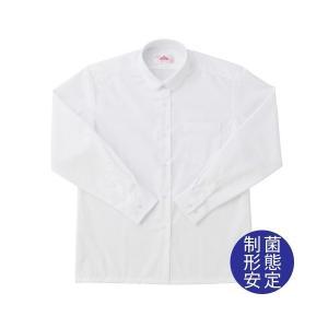 【P会員8%OFF】ビーステラ 長袖丸衿スクールシャツ B体 (制菌加工) ワイシャツ Yシャツ【返品・交換不可商品】|nishiki