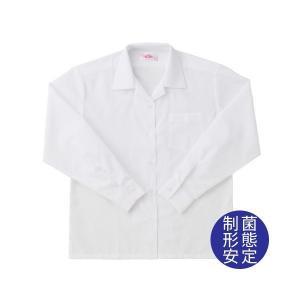 【P会員8%OFF】ビーステラ 長袖開衿スクールシャツ (制菌加工) ワイシャツ Yシャツ【返品・交換不可商品】|nishiki