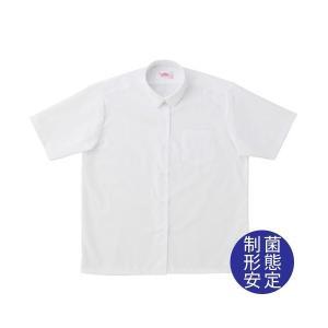 【P会員8%OFF】ビーステラ 半袖丸衿スクールシャツ (制菌加工) ワイシャツ Yシャツ【返品・交換不可商品】|nishiki