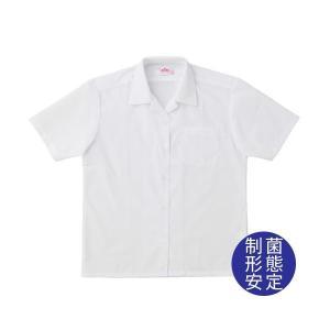 【P会員8%OFF】ビーステラ 半袖開衿スクールシャツ (制菌加工) ワイシャツ Yシャツ【返品・交換不可商品】|nishiki