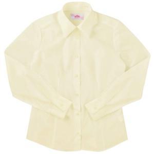 【P会員8%OFF】ビーステラ 長袖スクールシャツ (イエロー) ワイシャツ Yシャツ【返品・交換不可商品】|nishiki
