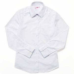 ビーステラ 長袖スクールシャツ (ホワイト) ワイシャツ Y...
