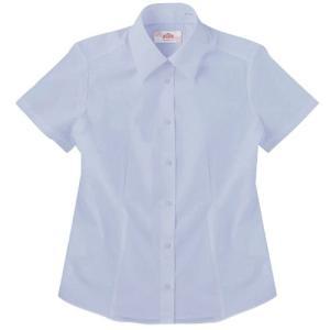 【P会員8%OFF】ビーステラ 半袖スクールシャツ(サックス)ワイシャツ Yシャツ【返品・交換不可商品】|nishiki