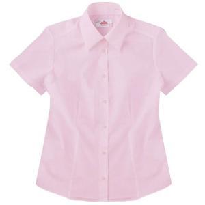 【P会員8%OFF】ビーステラ 半袖スクールシャツ(ピンク)ワイシャツ Yシャツ【返品・交換不可商品】|nishiki
