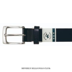 BEVERLY HILLS POLO CLUB 30m/m ベルト スクールベルト ブラック CP-...