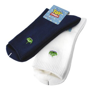 制服 靴下 エイリアン リブ/白 紺/18cm丈【返品・交換不可商品】|nishiki
