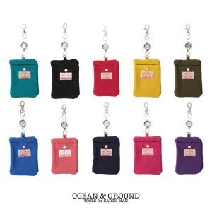 オーシャンアンドグラウンド(Ocean&Ground)GOOD DAY パスケース|nishiki