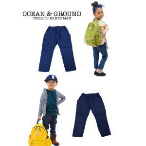 Ocean&Ground/オーシャンアンドグラウンド ドラエルパンツ インディゴ|nishiki