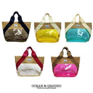 【P会員8%OFF】Ocean&Ground/オーシャンアンドグラウンド プールバッグ HEART REEF|nishiki