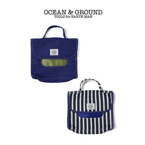 【P会員8%OFF】Ocean&Ground/オーシャンアンドグラウンド おむつポーチ BLUE BLUE デニム/ヒッコリー nishiki