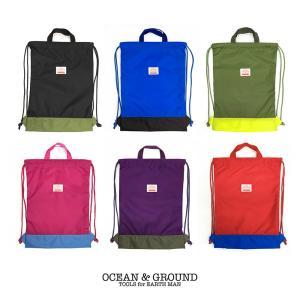 オーシャンアンドグラウンド(Ocean&Ground)CAMPDAY ナップサック nishiki