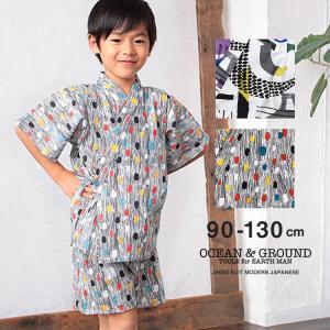 オーシャンアンドグラウンド(Ocean&Ground) 甚平スーツ JAPAN GRAFITY nishiki
