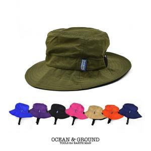 オーシャンアンドグラウンド(Ocean&Ground)ナイロンHAT ウミヤマコドモ 帽子|nishiki