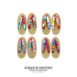 オーシャンアンドグラウンド(Ocean&Ground)草履 サンダル(返品・交換不可商品)|nishiki