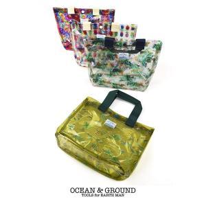 【P会員8%OFF】Ocean&Ground/オーシャンアンドグラウンド プールバッグ SANTA MONICA グリーン(GR)/マスタード(MS)/ピンク(PK)/マルチカラー(XX)|nishiki