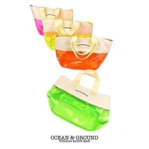 【P会員8%OFF】Ocean&Ground/オーシャンアンドグラウンド プールバッグ WHITE HEAVEN グリーン(GR)/オレンジ(OR)/ピンク(PK)/イエロー(YE)|nishiki