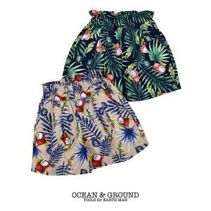 オーシャンアンドグラウンド(Ocean&Ground)子供服 ショートパンツ nishiki
