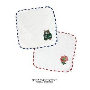 オーシャンアンドグラウンド(Ocean&Ground)子供用 タオルハンカチ 日本製 (返品・交換不可商品) nishiki
