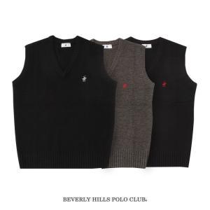 BEVERLY HILLS POLO CLUB ベスト アクリルウール ポイント有 3S〜XL KP...