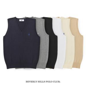 BEVERLY HILLS POLO CLUB ベストポイント有 SS〜XL KP960