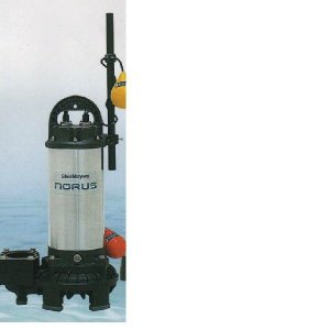 新明和工業 高機能樹脂製軽量 水中ポンプ CRS65D-F50N 1.5KW 三相200v自動排水スイッチ付 【送料無料 但、一部地域送料別途 代引/同梱不可】|nishikigoiootani
