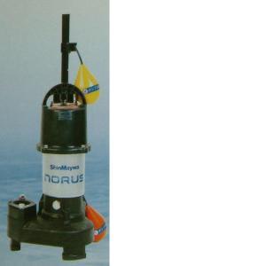 新明和工業 高機能樹脂製軽量 水中ポンプ CRS401DT-F40 0.25KW 三相200v 自動排水スイッチ付 【送料無料 但、一部地域送料別途 代引/同梱不可】|nishikigoiootani