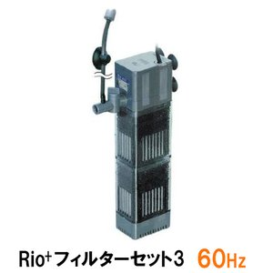 カミハタ リオ Rio+フィルターセット3 60Hz