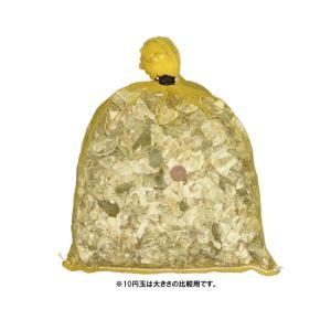 かき殻(半洗浄済) 中粒 約3kg 容積約8L|nishikigoiootani