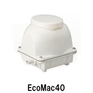 フジクリーン工業(マルカ)エアーポンプ EcoMac40 【送料無料 但、一部地域送料別途 代引/同梱不可】|nishikigoiootani