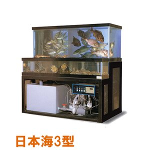 日東機材 活魚畜養水槽 日本海3型 水槽フルセット 【個人宅配送不可 代引不可 送料別途見積】|nishikigoiootani
