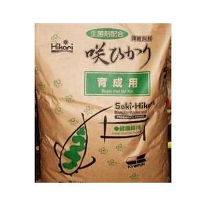 咲ひかり 育成用 L 浮 15kg 【送料無料 但、一部地域送料別途】|nishikigoiootani